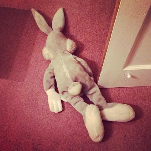 party bugs bunny dead