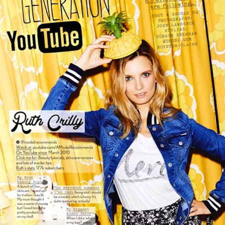 ruth crilly youtuber company magazine