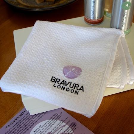 exfoliate acne face cloth