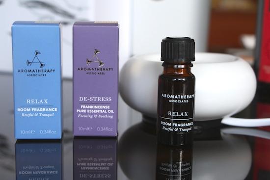 relax aromatherapy oils