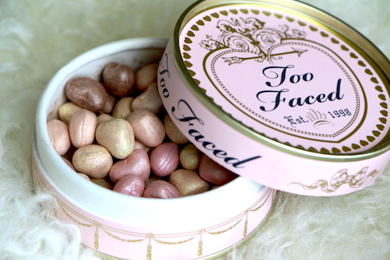 too faced sweetheart face beads makeup