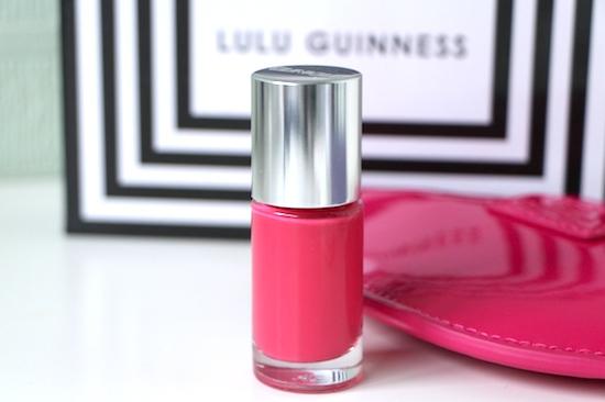 nail polish pink charity