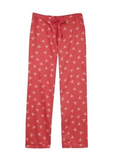 hush lobster print pyjamas