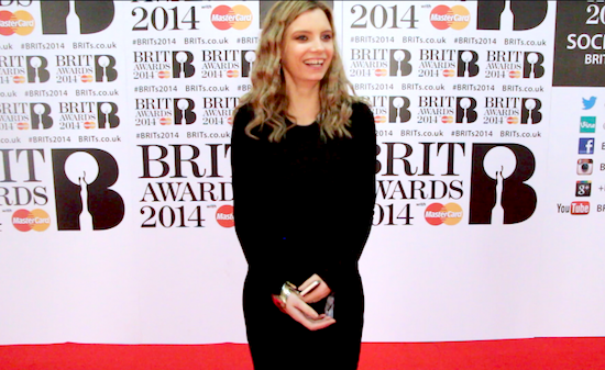 vo5 hair style brit awards 2014