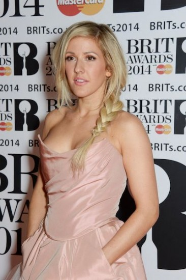 VO5 ROCK - Ellie Goulding 2014 BRIT Awards [3]