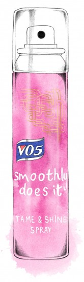 vo5 shine spray product