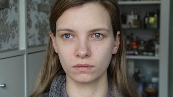 olay regenerist luminous skincare trial before picture