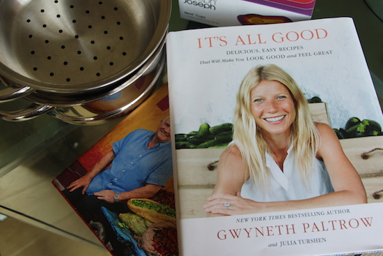 gywneth paltrow it's all good cook book