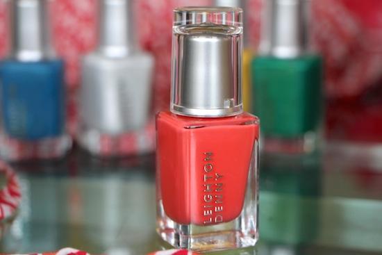 coral nail polish 2014