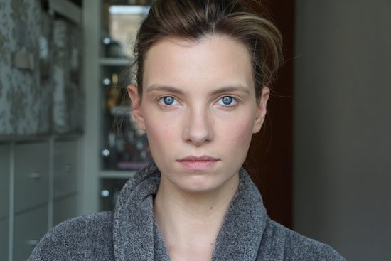 ruth crilly model makeup look