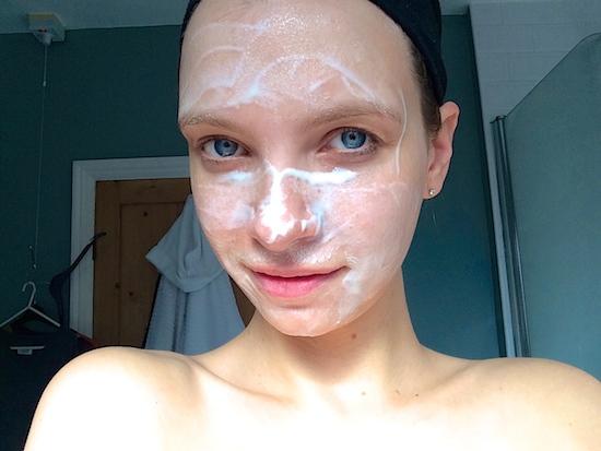 skincare face mask dry skin