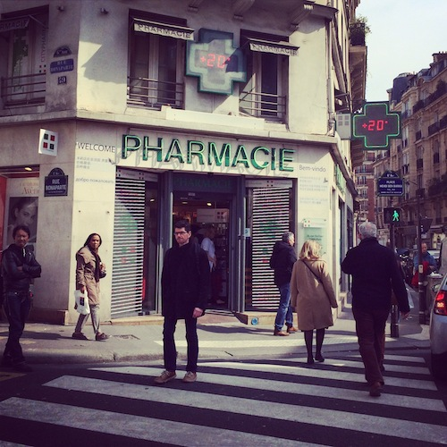 french pharmacie guide
