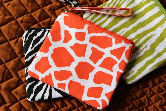 M&S animal print cosmetics pouch