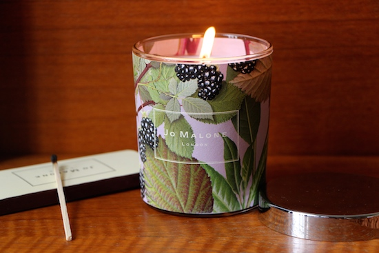 blackberry and bay candle angove