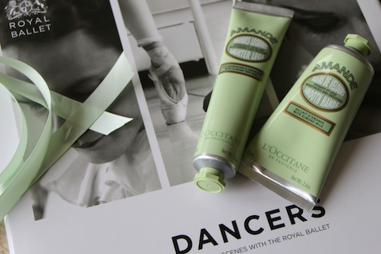 L'Occitane Almond Beauty Pouch for the Royal Ballet