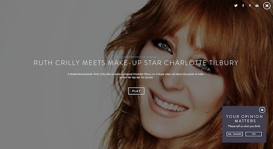 charlotte tilbury ruth crilly skype interview