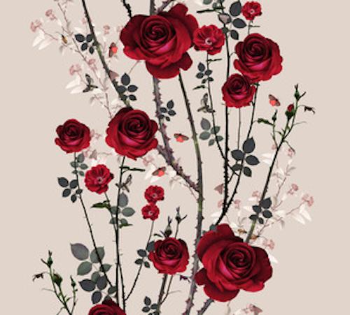 wallpaper floral print