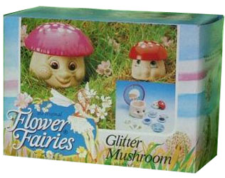 flower fairies toadstool toy