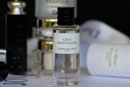 miniature dior perfume gris montaigne