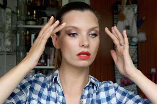 ruth crilly model makeup faves