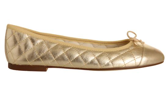 gold cecilia pumps office shoe sale
