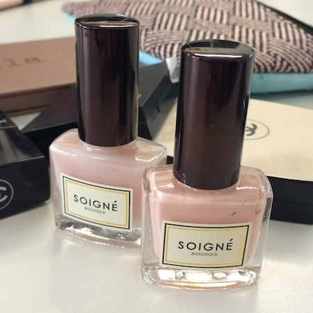 soigne nail polishes