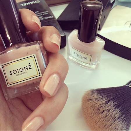 soigne nail polishes