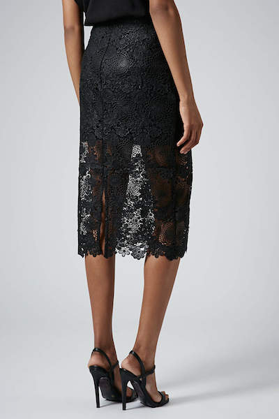dolce and gabbana style skirt high street
