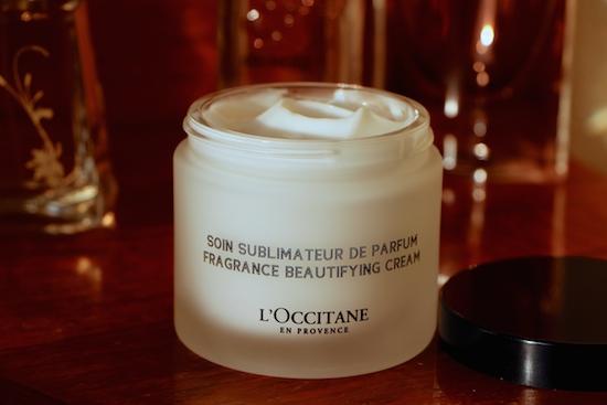 l'occitane fragrance beautifying cream