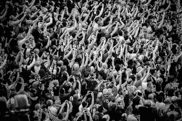 cannes 2014 hands in crowd