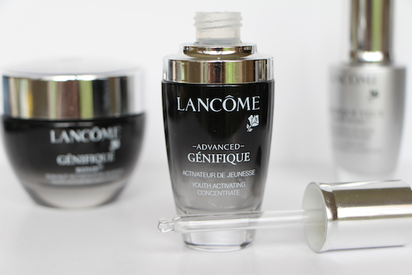 genefique skincare range