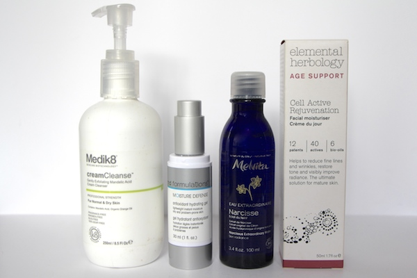 medik8 md formulations and elemental herbology beauty products