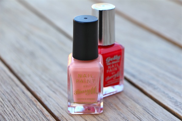 Barry M Nail Paint in Peach Melba