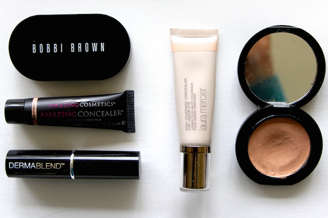 face makeup concealers