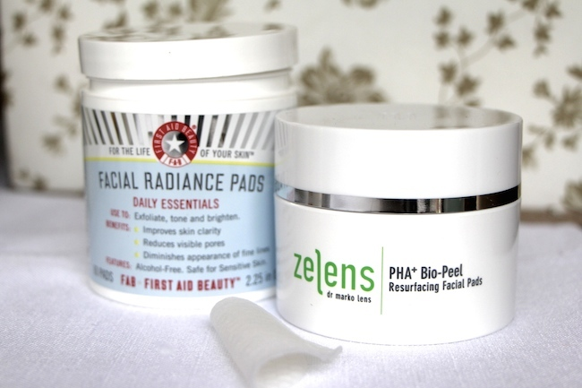 first aid beauty and zelens exfoliant review