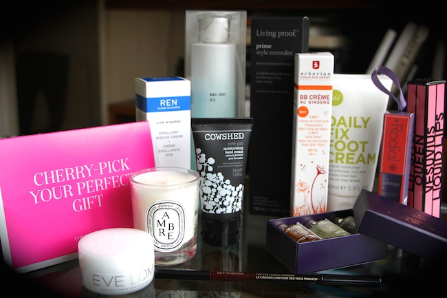 goody bag beauty luxury