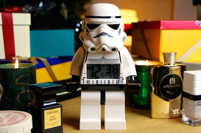 storm trooper lego clock