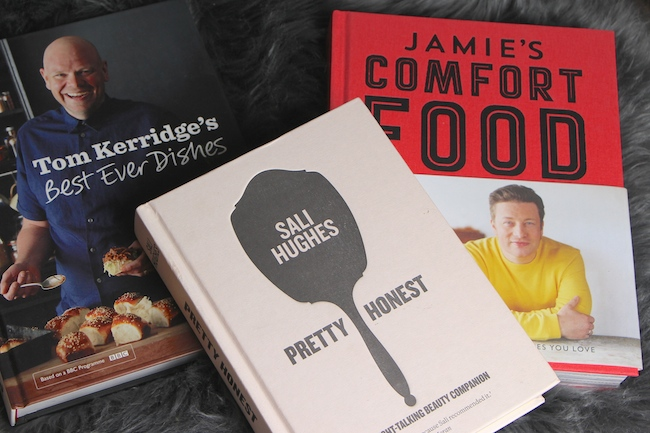 cookery and beauty books
