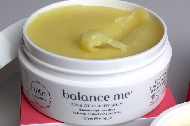 Balance Me Rose Otto Body balm Review