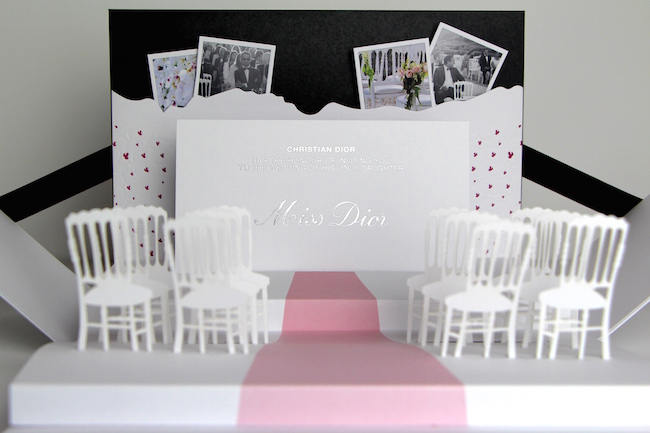 miss dior wedding