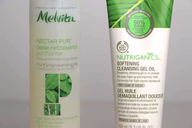 nutriganics softening cleansing gel oil