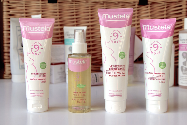 mustela stretch mark oil