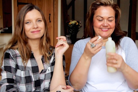 ruth crilly and caroline hirons beauty video