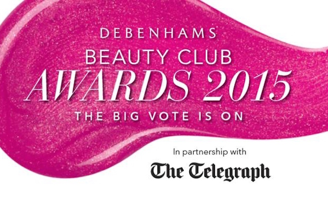 debenhams beauty club awards 2015
