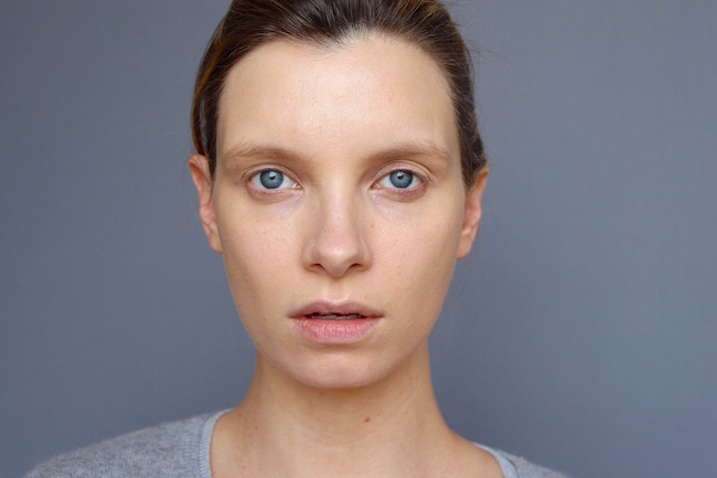ruth crilly wears bare minerals complexion rescue tinted gel cream