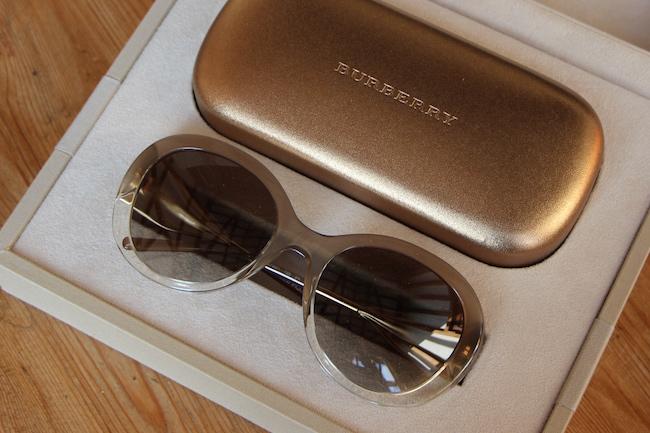 burberry eyeglasses oversized round frame