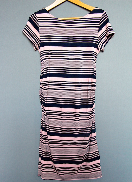 next midi maternity dress