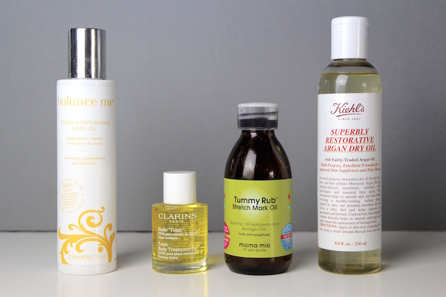 body oils for stretch marks