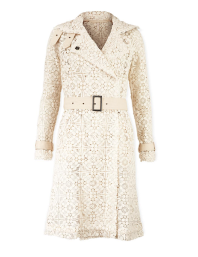free people lace trench