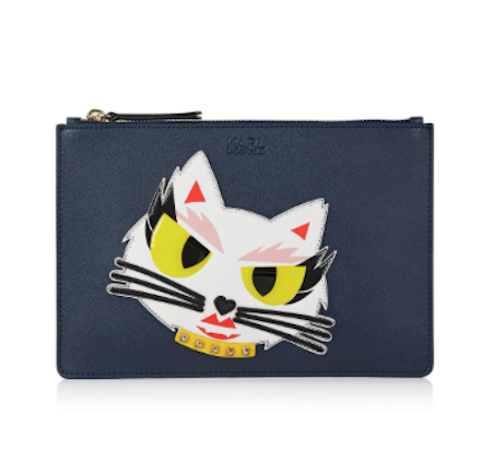 karl lagerfeld monster choupette clutch